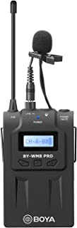 BOYA TX8 Pro Dual-Channel Wireless Bodypack Transmitter Unit with Omnidirectional Lavalier Mic for The by-WM8 PRO Wireless Lavalier Microphone System