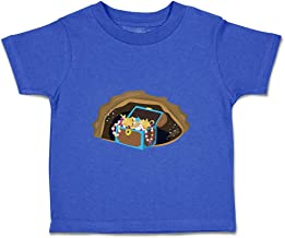 Custom Baby & Toddler T-Shirt Treasure Cotton Boy & Girl Clothes
