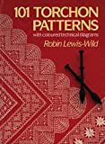 101 Torchon Patterns: with coloured technical diagrams (English Edition)