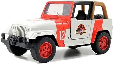 Jada 24038-W1 Jurassic World 2015 Movie Die Cast Wrangler Jeep