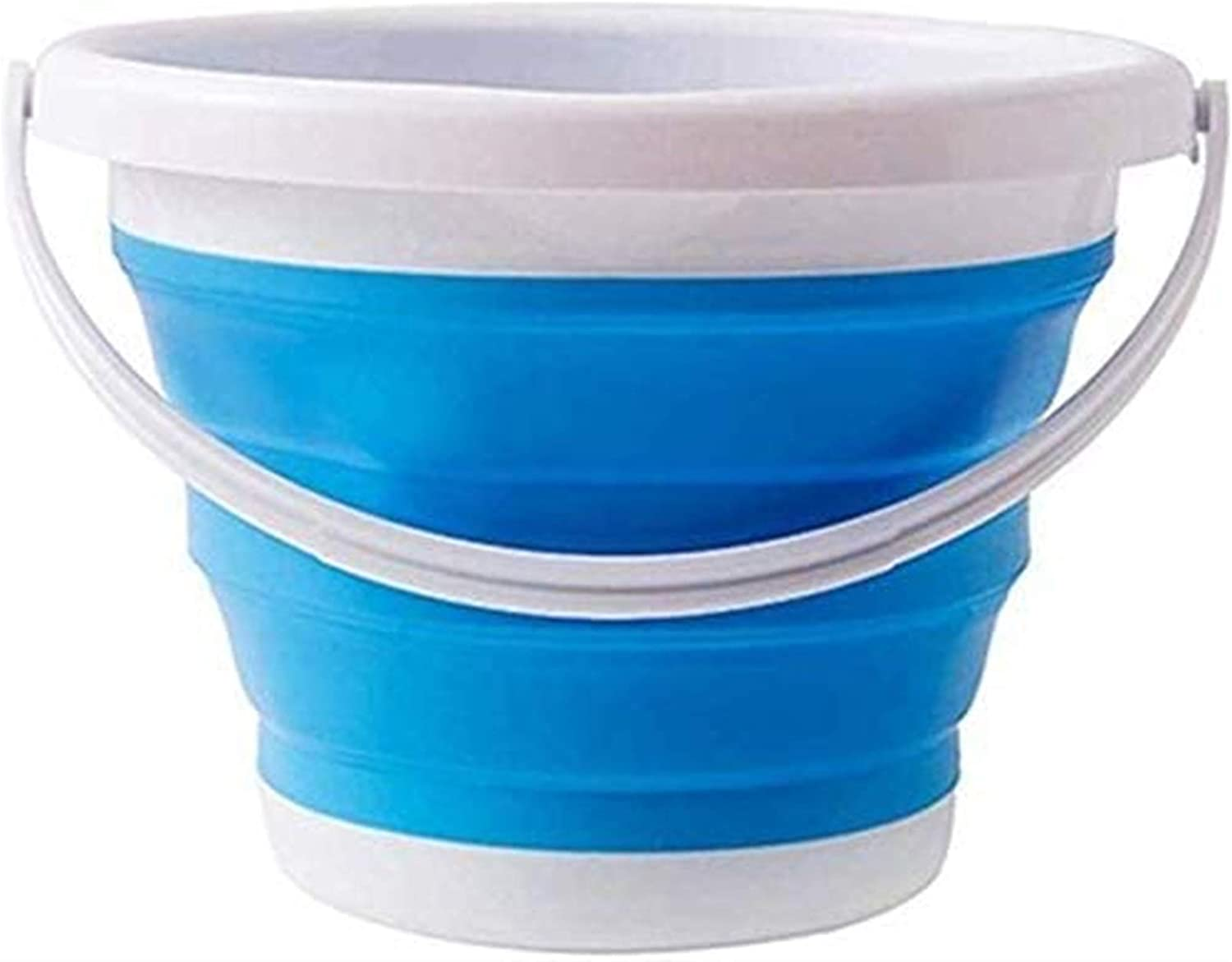 Folding bucket Outdoor Nippon regular agency product Bucket Silico Collapsible Camping Fees free!!