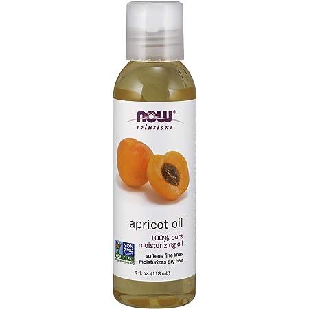 NOW Solutions, Apricot Kernel Oil, Hair Moisturizer, Rejuventaing Skin Oil, Softens Fine Lines, 4-Ounce