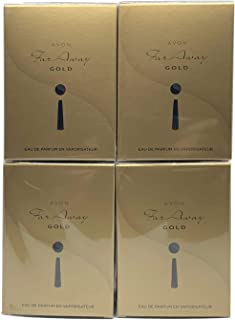 4 x Avon Far Away Gold Eau de Parfum Spray 50ml