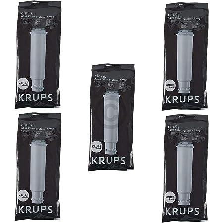5 cartouche de filtre KRUPS Claris F088