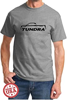 Toyota Tundra Pickup Truck Classic Outline Design Tshirt