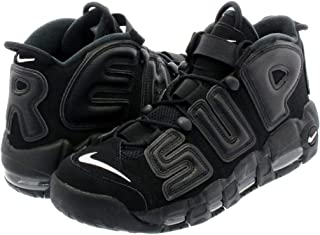 [ナイキ] AIR MORE UPTEMPO BLACK/BLACK/WHITE【SUPREME】 [並行輸入品]