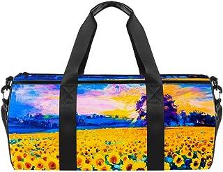 TIZORAX Triángulo Textura Madera Gimnasio Duffle Bag Drum Tote Fitness Travel Bag Rooftop Rack Bag