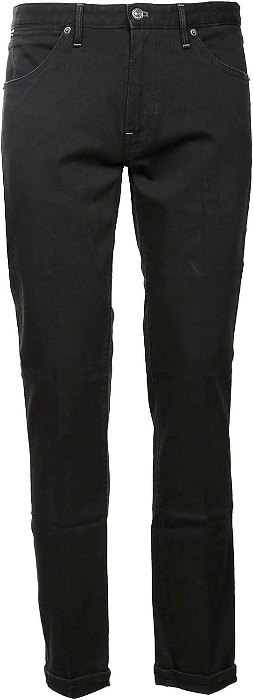 PT05 Men's C6DJ25Z20MINSC55 Black Cotton Pants