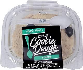 Angela Marie Cowboy Edible Cookie Dough, 3.5 Ounce -- 16 per case.