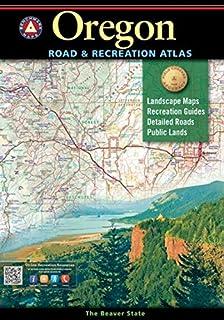 Oregon Benchmark Road & Recreation Atlas