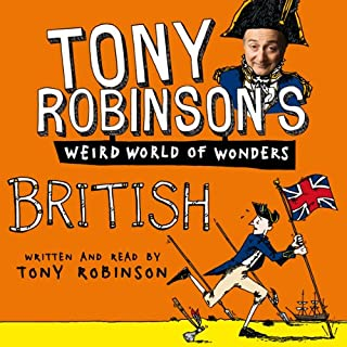 Tony Robinson's Weird World of Wonders! British audiobook cover art