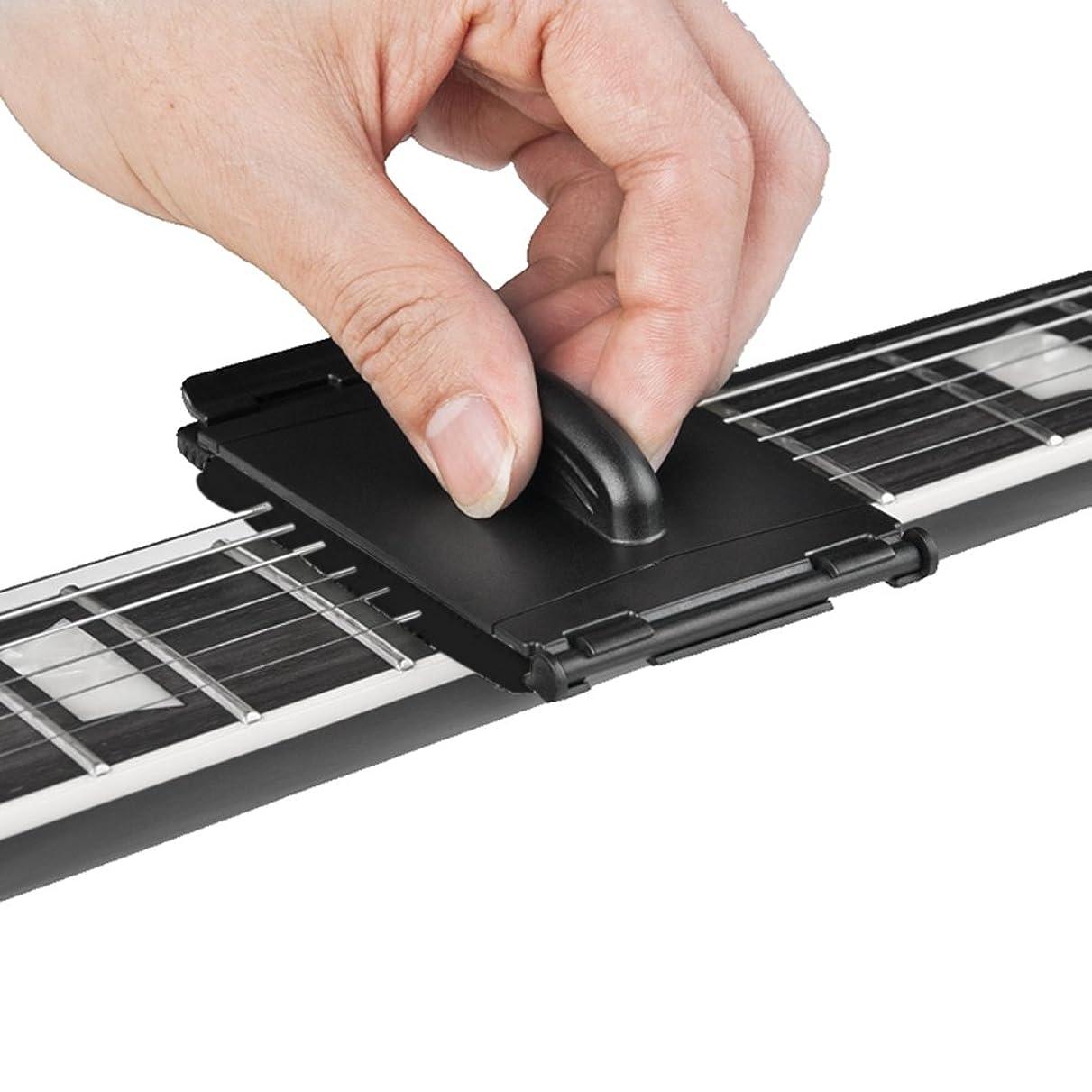 許可リアル不道徳k-outdoor ギター ストリングスクラバー お手入れ ストリング フィンガーボード 指板汚れ クリーニング ギター/ベース/エレキギターに対応 ギターメンテナンス用品 全2色選べ (ブラック)