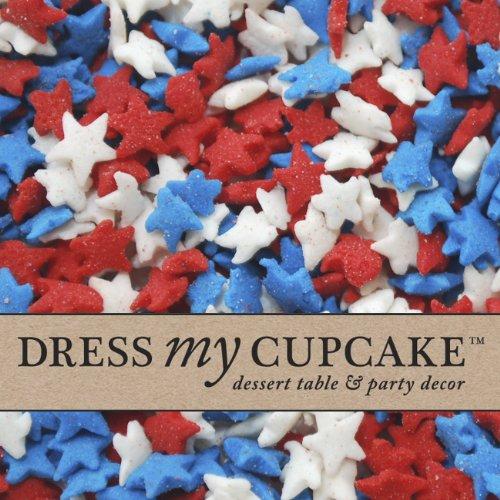Dress My Cupcake Decorating Sprinkles, July 4th