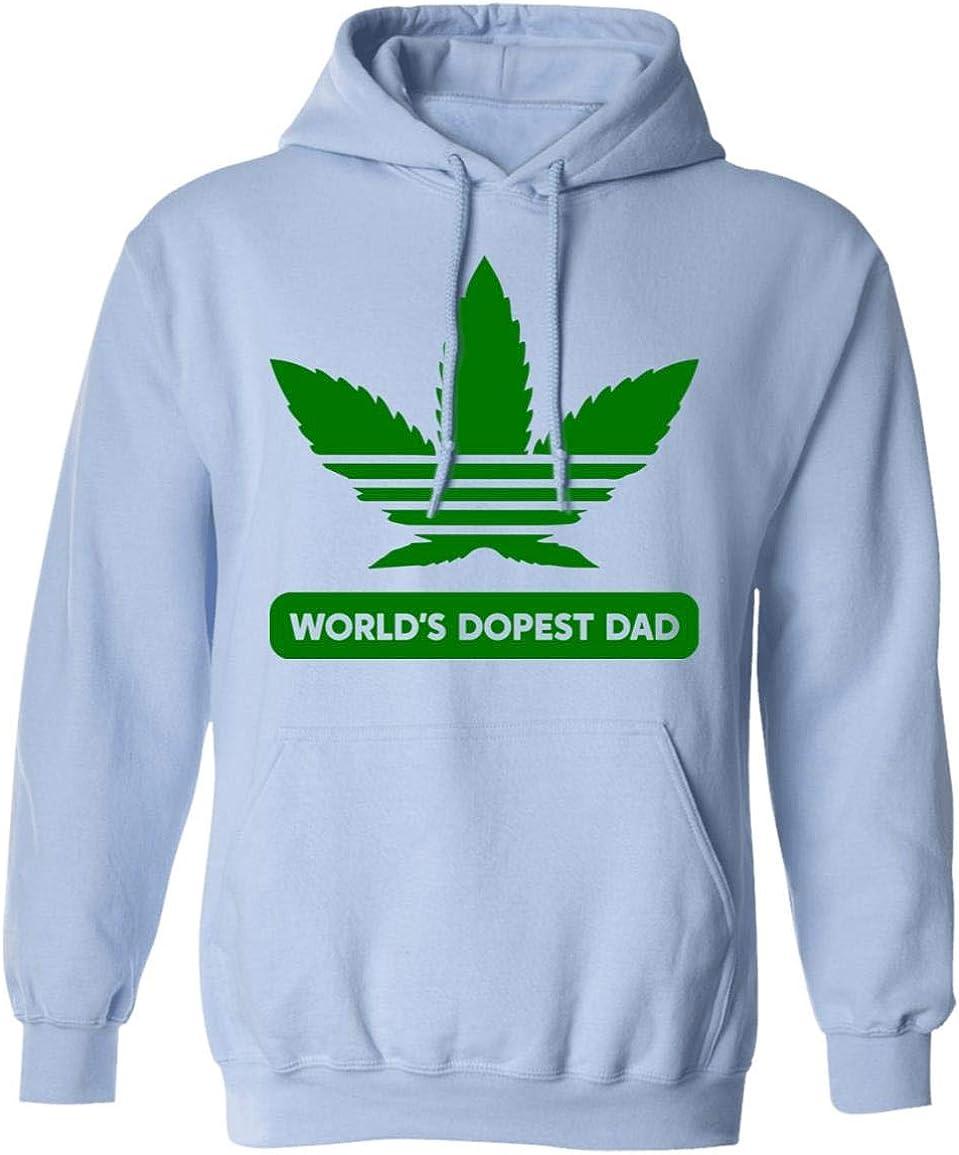 Worlds Dopest Dad 1着でも送料無料 Hoodie - Funny 訳あり品送料無料 Cann Sweatshirt Long Sleeve