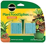 Scotts Miracle-Gro Engrais 300157 intérieur 48-spikes, 2.2-ounce