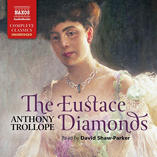 The Eustace Diamonds audiobook cover art
