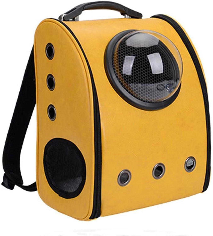 Dixinla Pet Carrier Backpack Pet Space Backpack out portable pet bag breathable cat bag dog backpack Pet Supplies 34.5  29  42