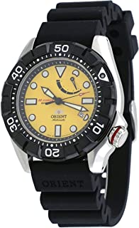 Orient #SEL03005Y Men's M-Force Air Diver Power Reserve Automatic Watch