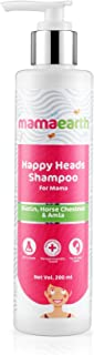 Mamaearth Happy Heads Hair Shampoo 200ml with Biotin, Horse Chestnut, Bhringraj and Amla. Sulfate Free, SLES Free