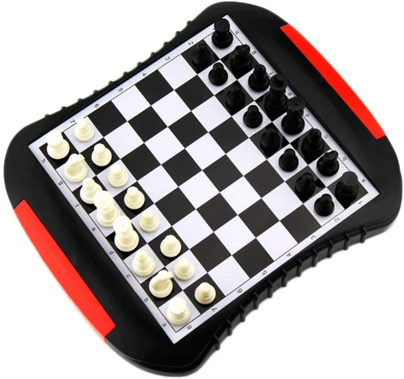 Same day shipping HJHJ Chess Game Max 52% OFF Magnetic Boardï Drawer Type Portable