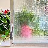 LMKJ Película de Ventana de Mosaico de Color 3D protección de privacidad estática Pegatina de Vidrio Vinilo Autoadhesivo calcomanía de Ventana A57 40x200cm
