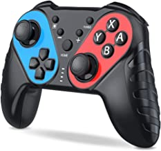 Wireless Controller for Nintendo Switch BEBONCOOL Switch Pro Controller Remote Gamepad with Amiibo/NFC Function Dual Shock Gyro Axis