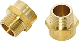Homend (2 Pack) Pipe Fitting Adapter Pipe Fitting Adapter Female G1/2
