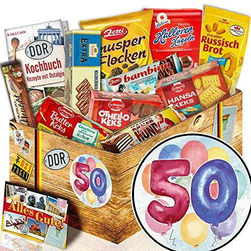 Keks Geschenkset / Ost Paket / 50 Geburtstag Geschenk / 50. Geburtstag