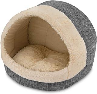 "Cozy Cat Cave by Best Pet Supplies, 17""x15""x14, Gray"