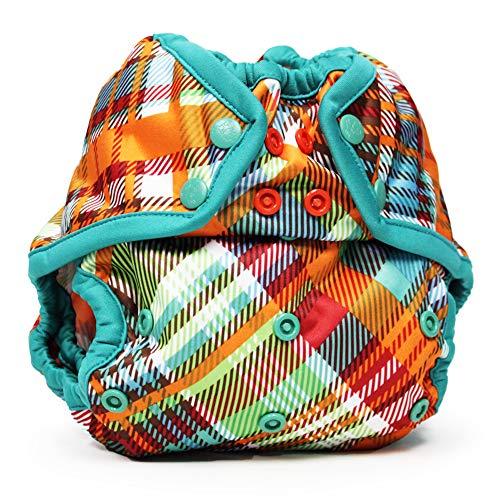 Kanga Care Rumparooz One Size Reusable Cloth Diaper Cover Snap | Quinn 6-35 lbs