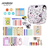 Andoer 14 in 1 Accesorios Kit para Fujifilm Instax Mini 8/8+/8s Incluye Bolsa, Selfie Lente, Colores, Marcos de Película, Wall Hanging Frame, Corner Sticker, Border Sticker, Pluma (Kit F)