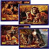 Fame - Puzzles de águila (150 piezas, 300 x 440 mm)