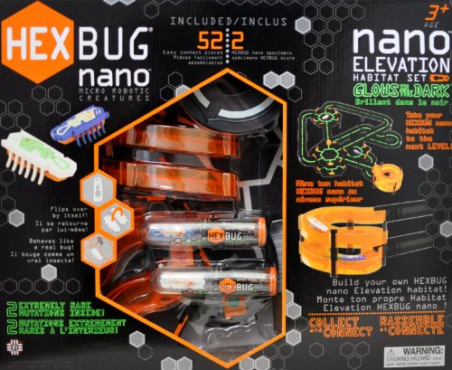 Hexbug - Nano - Glows in The Dark - Elevation Habitat Set - Brille dans Le Noir