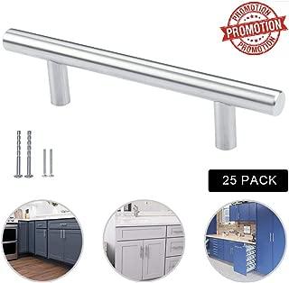 Silver Moon Hardware Cabinet Handle pulls, 3-3/4