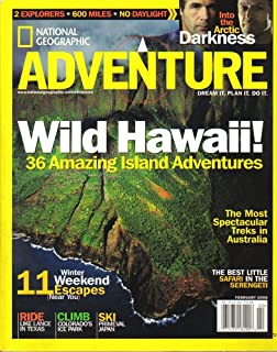 National Geographic Adventure Magazine (February 2006, Vol. 8, No. 1)