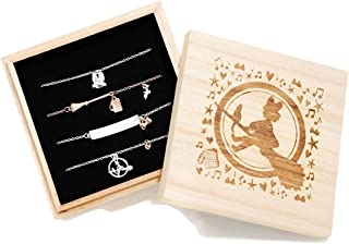Studio Ghibli Her Universe Kiki's Delivery Service Silver and Rose Gold 4 Piece Bracelet Set - BoxLunch Exclusive