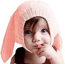 La Vogue Baby Cute Ear Hats Winter Crochet Earmuff Earcap Knit Hat