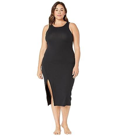 Beyond Yoga Plus Size Bopo Ease Into It Midi Tank Dress