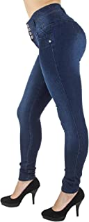 Colombian Design, High Waist, Butt Lift, Skinny Jeans