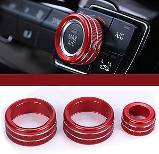 3 perillas de Aire Acondicionado para Ford Focus 2 3 Mondeo longyitrade