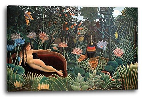 Leinwand (120x80cm): Henri Rousseau - Der Traum