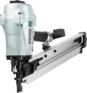 "Hitachi NR90AC5 Framing Nailer for LVL, 2-3/8"" to 3-1/2"" Plastic Collated Nails, 0.162"", Full Head, 21 Degrees"