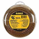 DEWALT DWO1DT802 String Trimmer Line, 225-Feet by 0.080-Inch, 3Pack (225-Feet)