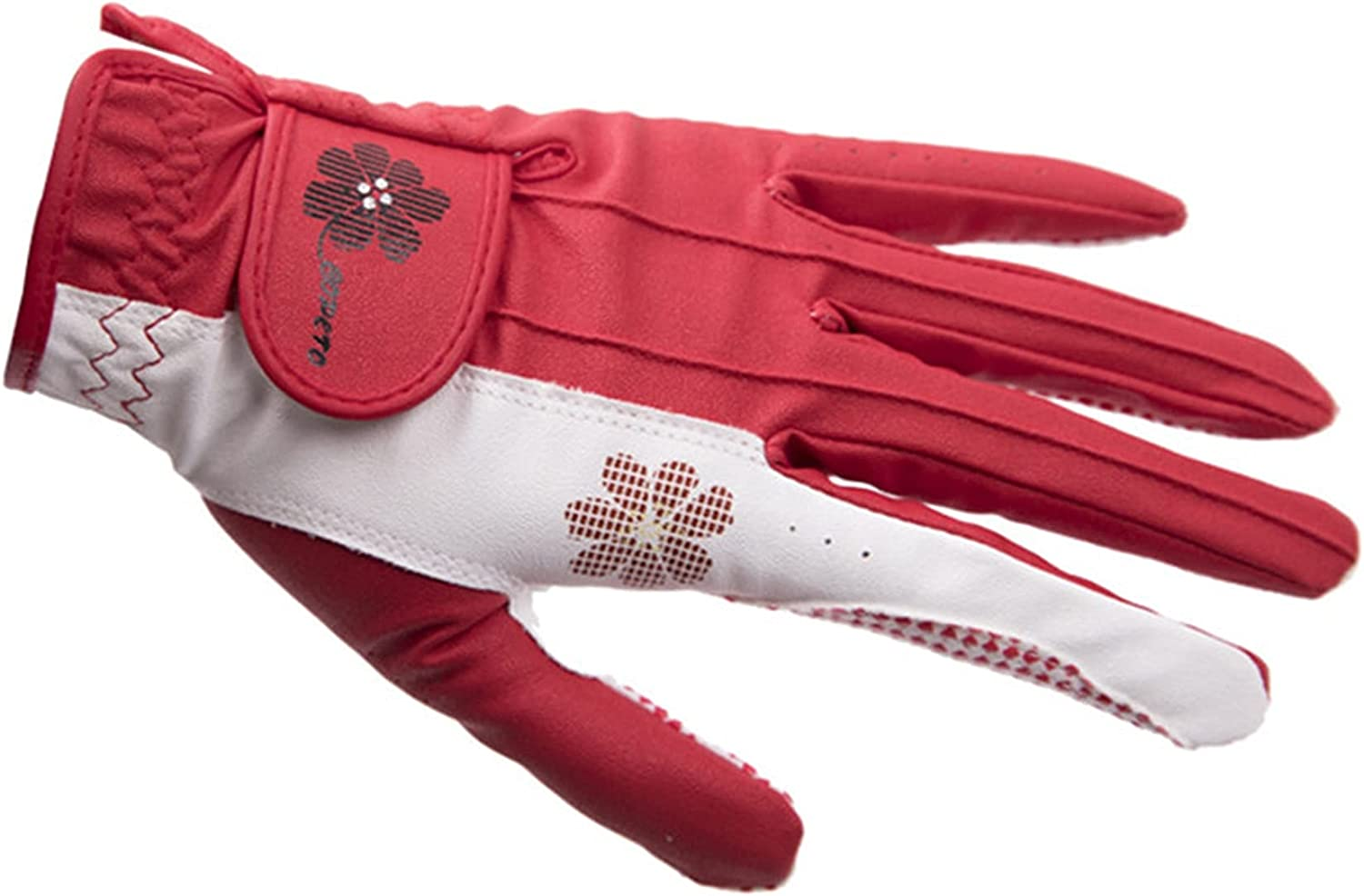 ZhiCai Louisville-Jefferson County Mall New Lady Flower Golf Gloves Anti-Sli Handed Max 67% OFF Double Sports