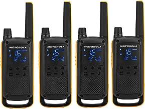 Motorola Talkabout T82 Extreme Quad PMR Funkgerät (Bis zu 10 km Reichweite, IPx4..