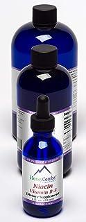 Vitamin B3 (Niacin) Drops – Vitamin B Liquid Drops to Support Healthy Cholesterol, Circulation & Immune Sys...