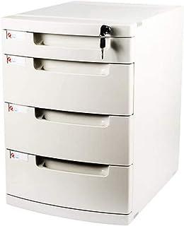 XHMCDZ Drawer Organizers Office Cabinets, Racks & Shelves Home Office Cabinets File Cabinet Desktop Storage Box Plastic Dr...