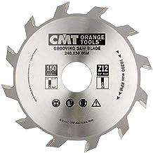 CMT Orange Tools 240.050.06R - Sierra circular para ranurar 150x5x35 z 12 recto