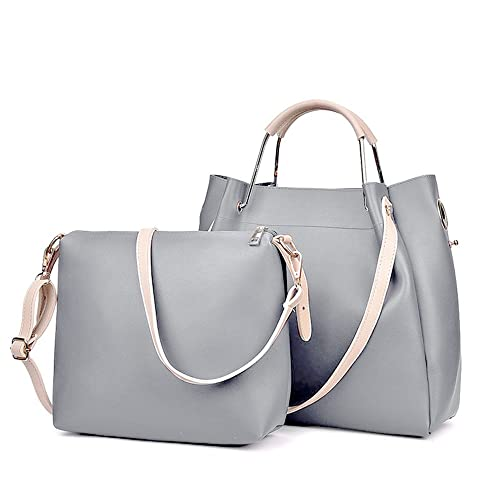 74714c81ea3e7 BAIGIO Women s PU Leather Purses and Handbags Vintage Hobo Tote Satchel  Designer Shoulder Bags with Removble