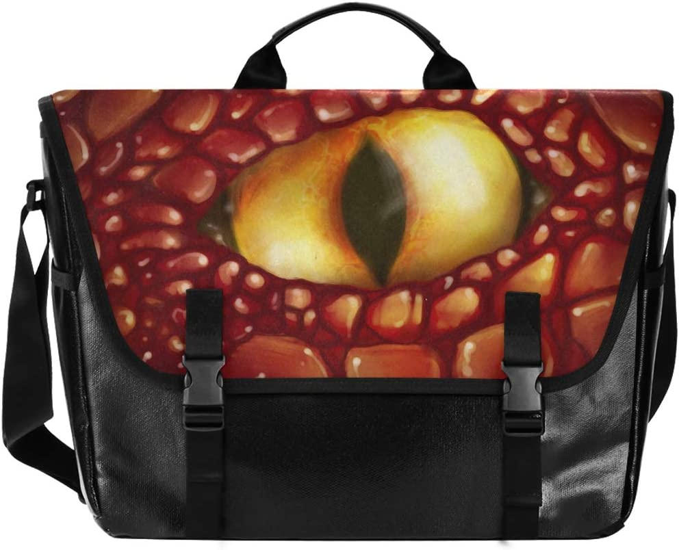 Messenger Bag Yellow Dragon Eye All items free shipping Satchel Unisex Briefcase Office Max 67% OFF